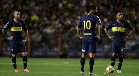 Cardona (c) quiere volver. AFP