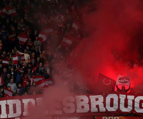 Two second-half goals were enough to see Middlesbrough over the line at Hillsborough. AFP