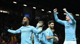 El City ha aprovechado que no hay fútbol para acelerar las gestiones. AFP