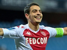 Ben Yedder joined Monaco from Sevilla in August 2019. AFP