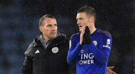 Rodgers doesn't expect England return for Vardy