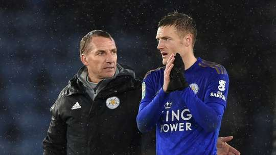 Vardy set to return for Leicester's semi-final showdown. AFP