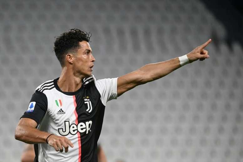 Cristiano Ronaldo no conseguirá la Bota de Oro esta temporada. AFP