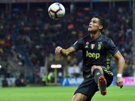 Cristiano Ronaldo continues to search for his first Serie A goal. AFP