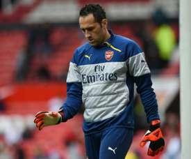 Ospina pode sair do Arsenal em busca de titularidade. AFP
