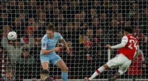 El Arsenal sufrió más de lo esperado ante el Leeds. AFP