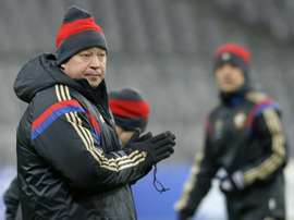 Russias new manager Leonid Slutsky has called up five of his own players from CSKA Moscow for his first matches in charge