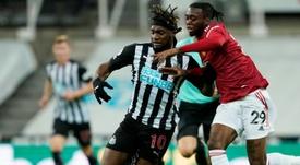 Peligra el Aston Villa-Newcastle por los últimos positivos. AFP