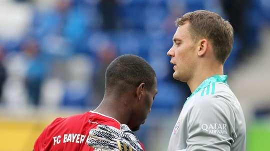 Rinovo lontano tra Alaba e il Bayern. AFP