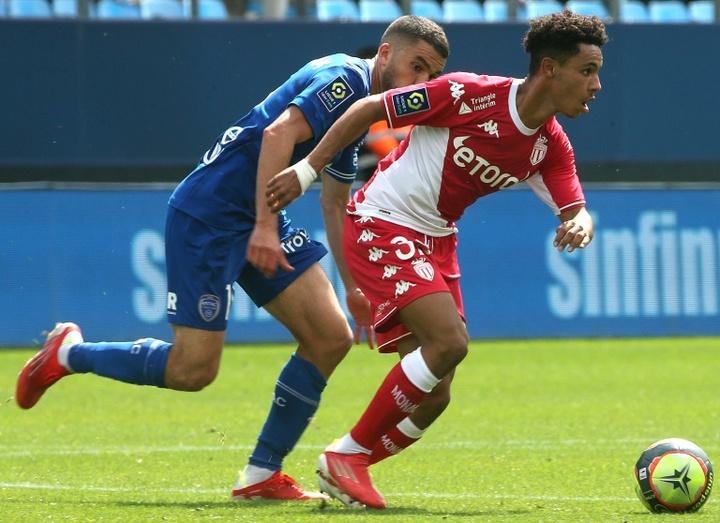 Mônaco vence a primeira e pega o elevador na Ligue 1. AFP