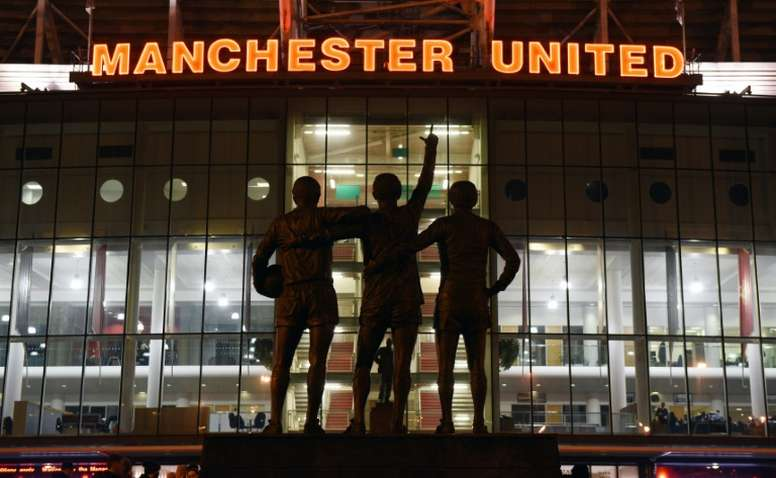 United are finally setting up a women's football team. AFP