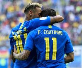 Regresa Brasil con todas sus estrellas. AFP