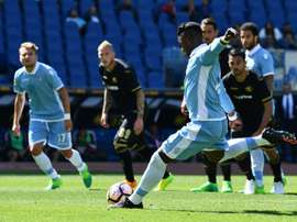 Balde hits five-minute hat-trick for Lazio