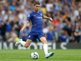 Jorginho has been key in Chelsea's first two games this season. AFP