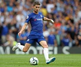 Jorginho novo jogador do Chelsea. AFP