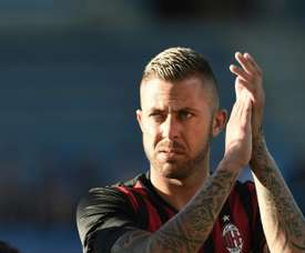 French forward Jeremy Menez, pictured on July 16, 2016, would be Ligue 1 club Bordeauxs third signing ahead of the new season, pending a medical