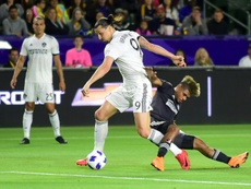 Ibrahimovic and Martinez will feature in the MLS All-Stars team. AFP