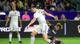 El Inter descarta a un Ibrahimovic por el que suspira Ancelotti. AFP