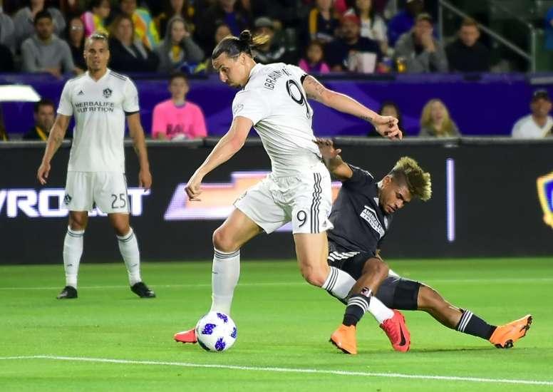 Seattle puede con Ibra, Los Angeles FC se estrella sin Vela. AFP