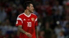 A Radchenko le encantaría verle marcando por partida doble al Madrid. AFP