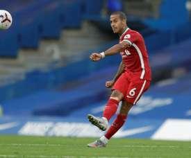 Thiago Alcantara a été testé positif au Covid. afp