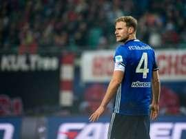 El Schalke quiere sumar de tres en tres para aferrarse a la permanencia. AFP