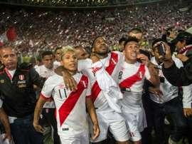 Perú consiguió el pase al Mundial. EFE