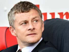 Solskjaer previously managed Cardiff City. AFP