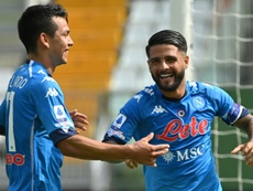 Napoli won 6-0. AFP