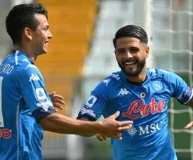 Napoli won 6-0. AFP