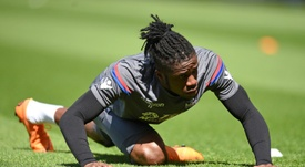 Wilfried Zaha has earned plaudits for his Crystal Palace performances. AFP