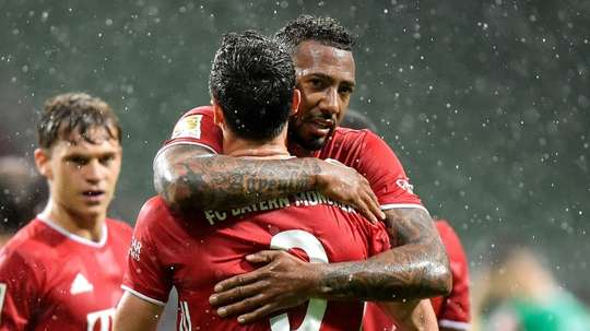Boateng and Alaba could leave. AFP