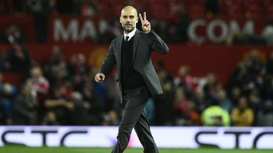 El favor de Guardiola al United. AFP