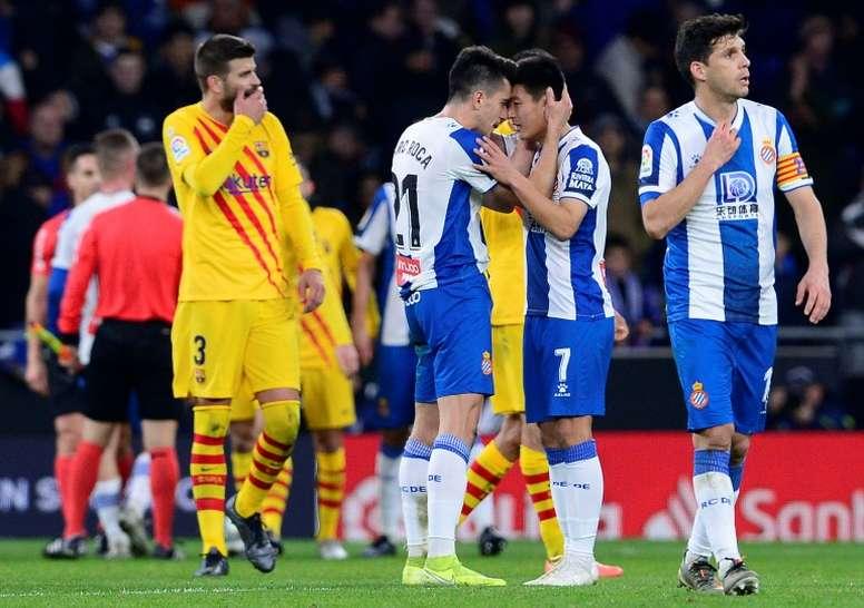 El Espanyol mantiene la fe. AFP