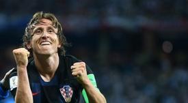 Le Real Madrid, sans inquiétude pour Modric. AFP