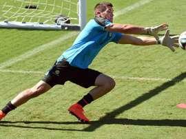 Australias goalkeeper Matthew Ryan, seen during a training session in Vitoria, Brazil, in June 2014