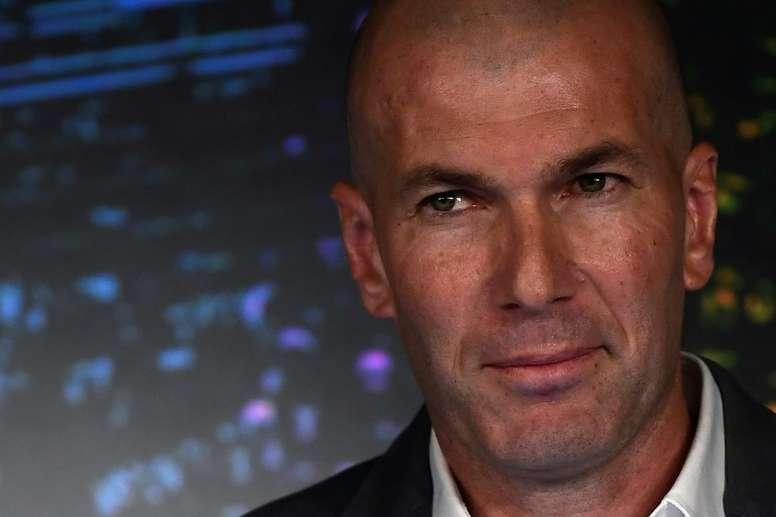 Zidane ha parlato in conferenza stampa. AFP