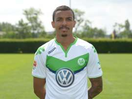Luiz Gustavo, pictured on July 16, 2015, became withdrew from the Brazil Copa America squad, citing personal problems