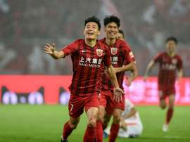 Shanghai SIPG win Chinese Super League for the first time. AFP