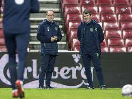 Roy Keane (R) reportedly had a spat with Harry Arter, but the midfielder has returned. AFP