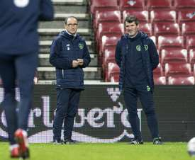 Keane and O'Neill pictured. AFP