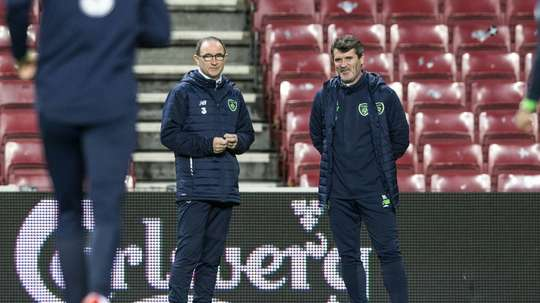 Roy Keane verbally attacked Harry Arter and Jonathan Walters in a recording earlier this year. AFP