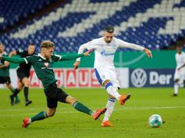 Struggling Schalke sack Ibisevic, suspend Harit, Bentaleb. AFP