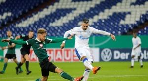 Struggling Schalke sack Ibisevic, suspend Harit, Bentaleb. AFP