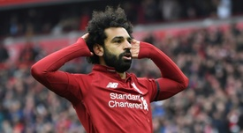 Mohamed Salah is now a role model for millions all over the world. AFP.