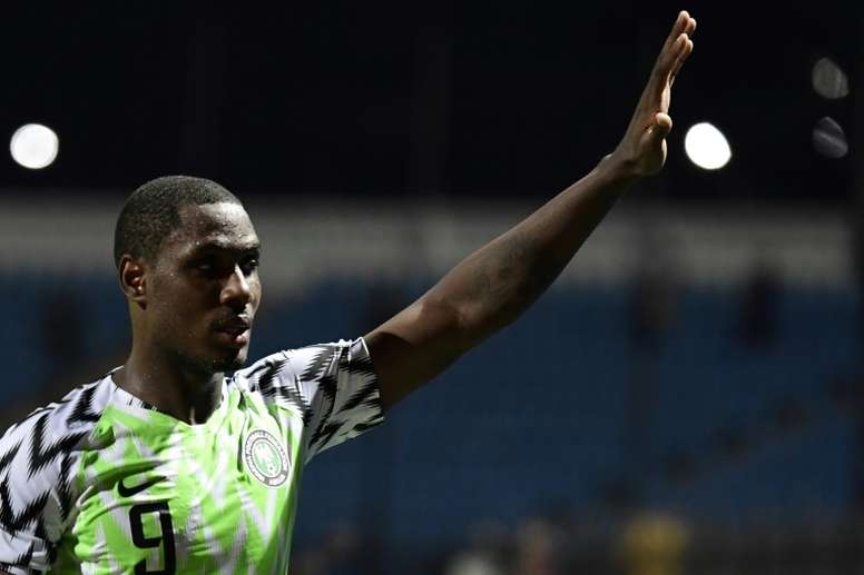 United have signed Ighalo. AFP