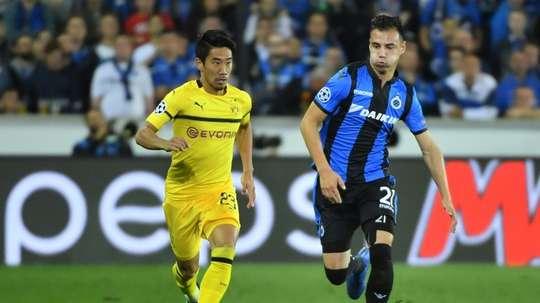 Kagawa pas loin du club de Ligue 1. AFP