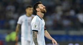 Conca puso a la misma altura a Leo Messi y a Maradona. AFP