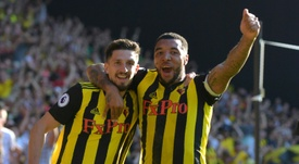 Deeney has been on fine form this season. AFP