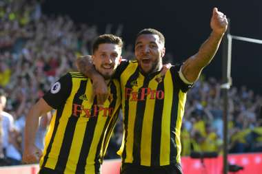 Troy Deeney has impressed with Watford this season. AFP